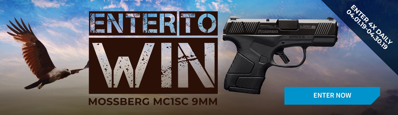 GrabAGun Monthly Giveaway - Win a Mossberg Pistol