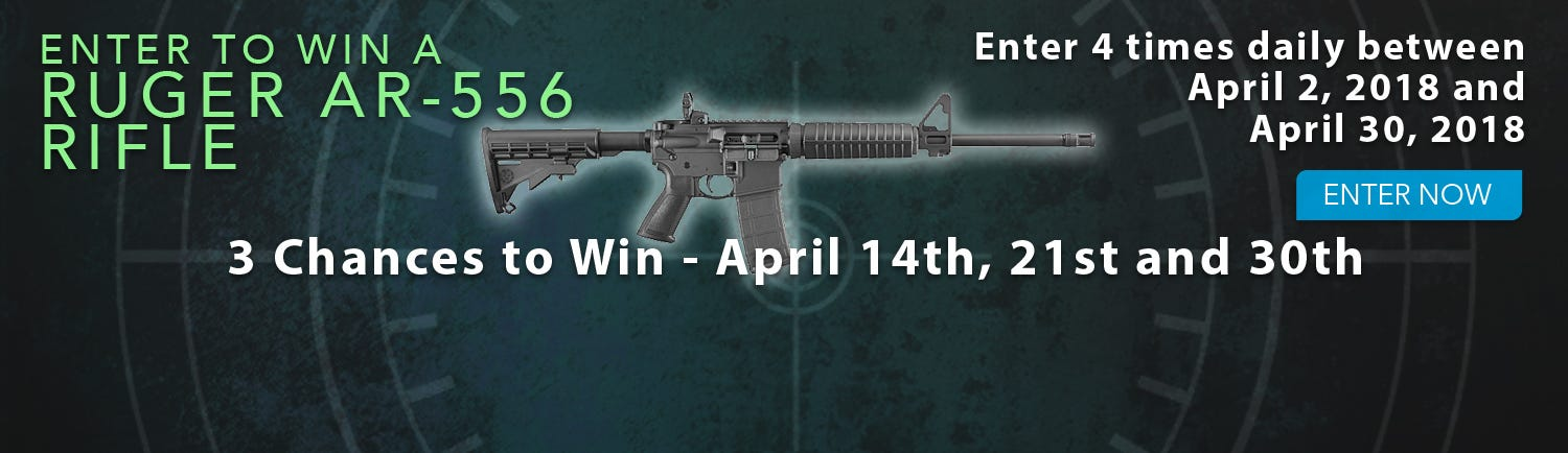 GrabAGun Monthly Giveaway - Win a Ruger Precision Rifle
