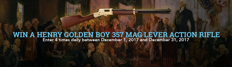 GrabAGun Monthly Giveaway - Win a Henry Golden Boy