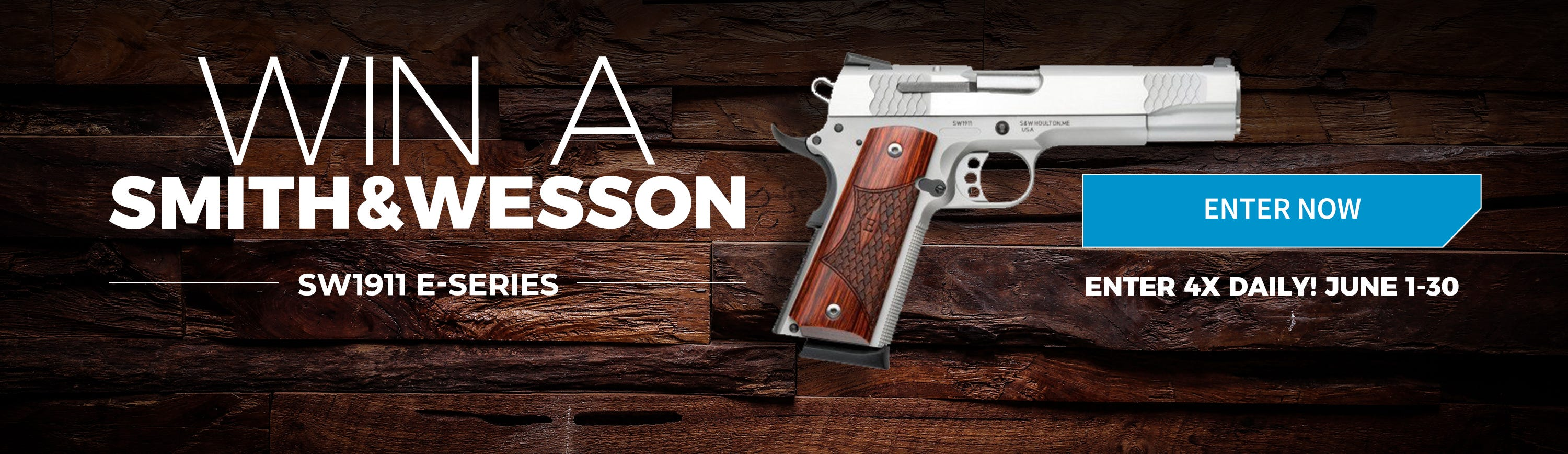 GrabAGun Monthly Giveaway - Win a Smith and Wesson 1911 E-Series Pistol