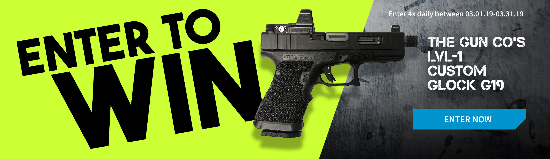 GrabAGun Monthly Giveaway - Win a Custom Glock 19