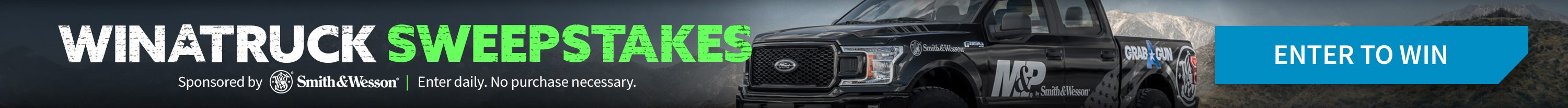 Win A Truck Giveaway! Signup to win a 2019 Ford F-150