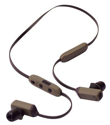 Walkers Neck Electronic Worn Ear Bud Black/Gray