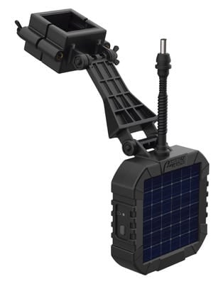 American Hunter Solar Panel Charger for XD-Pro/XDE-Pro/Econ Feeder Kits Black