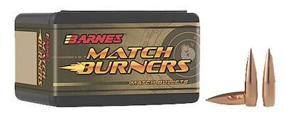 Barnes Bullets Match Burners 6mm 112 Grain 100-Rounds BTM