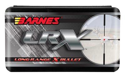 Barnes Bullets Long-Range X Copper .30 Caliber 208 Gr 50-Rounds LRX Boat Tail