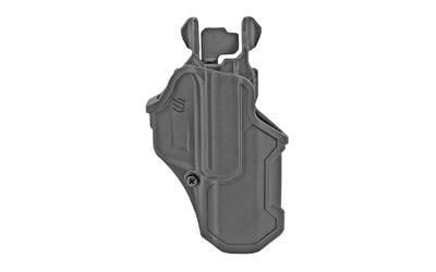 Blackhawk T-Series L2C Right Hand OWB Holster for S&W M&P 9/40/45, SD 9/40, Taurus PT 24/7 Pro Black