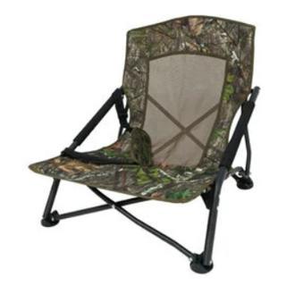 Bog Gear Low Pro Turkey Camo Chair Mossy Oak Obsession Fold-Up Design