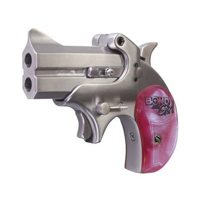 Bond Arms Mini 357MAG/38SP 2.5-inch Pink Grip