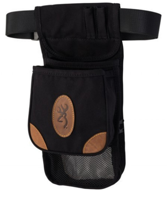 Browning Lona Canvas Deluxe Pouch LG Black/BRN