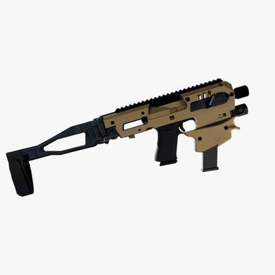 CAA MCK Gen 2 for Glock 43, 43X, and 48 Tan