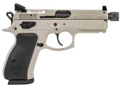 """CZ P-01 Urban Grey 9mm 3.8"""" Barrel 15-Rounds with 3-dot Luminous Sights"""