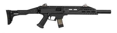 "CZ Scorpion EVO 3 S1 9mm 16.2"" Barrel 20-Rounds with Faux Suppressor"