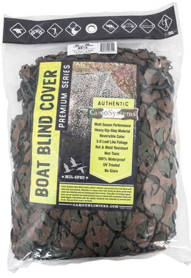 Camo Systems Military Boat Concealment Green / Brown 5'X19'