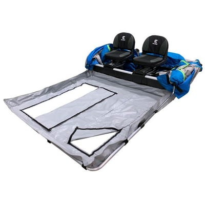 Clam Voyager/JM Thermal X Fish Trap Removable Floor Grey