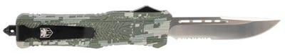 CobraTec Knives CTK-1 Large Drop Point Digital Camo Part Ser OTF