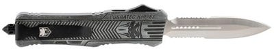 CobraTec Knives CTK-1 Large Stone Washed Dagger Part Ser OTF