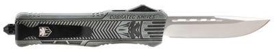 CobraTec Knives CTK-1 Large Stone Washed OTF