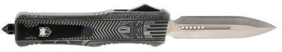 CobraTec Knives CTK-1 Large Stone Washed Dagger Plain OTF