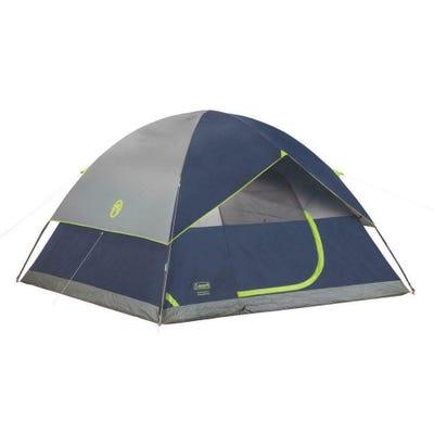 Coleman Sundome Dome Tent 6 Person Blue/Gray 10x10