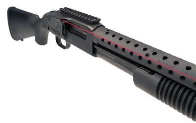 Crimson Trace LaserSaddle Series Red Laser for Mossberg Shockwave 500/590