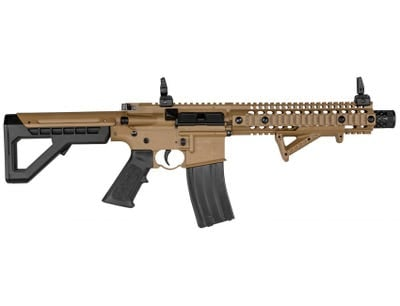Crosman DPMS SBR Full Auto CO2 Air Rifle 177 Caliber BB Flat Dark Earth Synthetic Stock