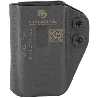 Crucial Concealment Covert Mag IWB Holster Ambidextrous for Springfield Hellcat/Sig Sauer P365