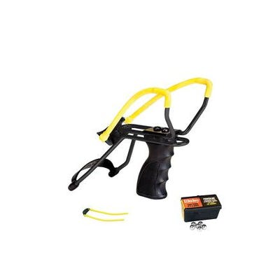 Daisy P51 Slingshot Kit Black / Yellow Adjustable Wrist Supports