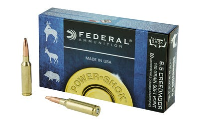 Federal Premium 6.5 Creedmoor Ammo 140 Grain 20 Rounds