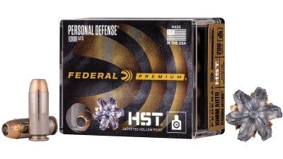 Federal Personal Defense HST 10mm 20 RDs 200 Gr HST JHP