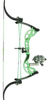 FeraDyne Outdoors Muzzy LV-X Bowfishing Lever Bow Right-Handed Green