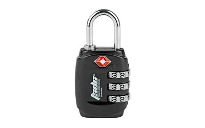 Firearm Safety Devices TSA Lock with Steel Shackle
