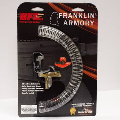 Franklin Armory BFSIII AR-S1 Binary Trigger for AR Platforms