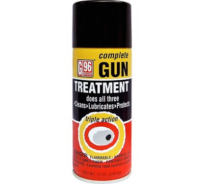 G96 Products Complete Gun Treatment 12oz Yellow