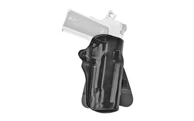 """Galco Speed Master 2.0 Holster Fits 5"""" 1911 RH  Black Leather"""