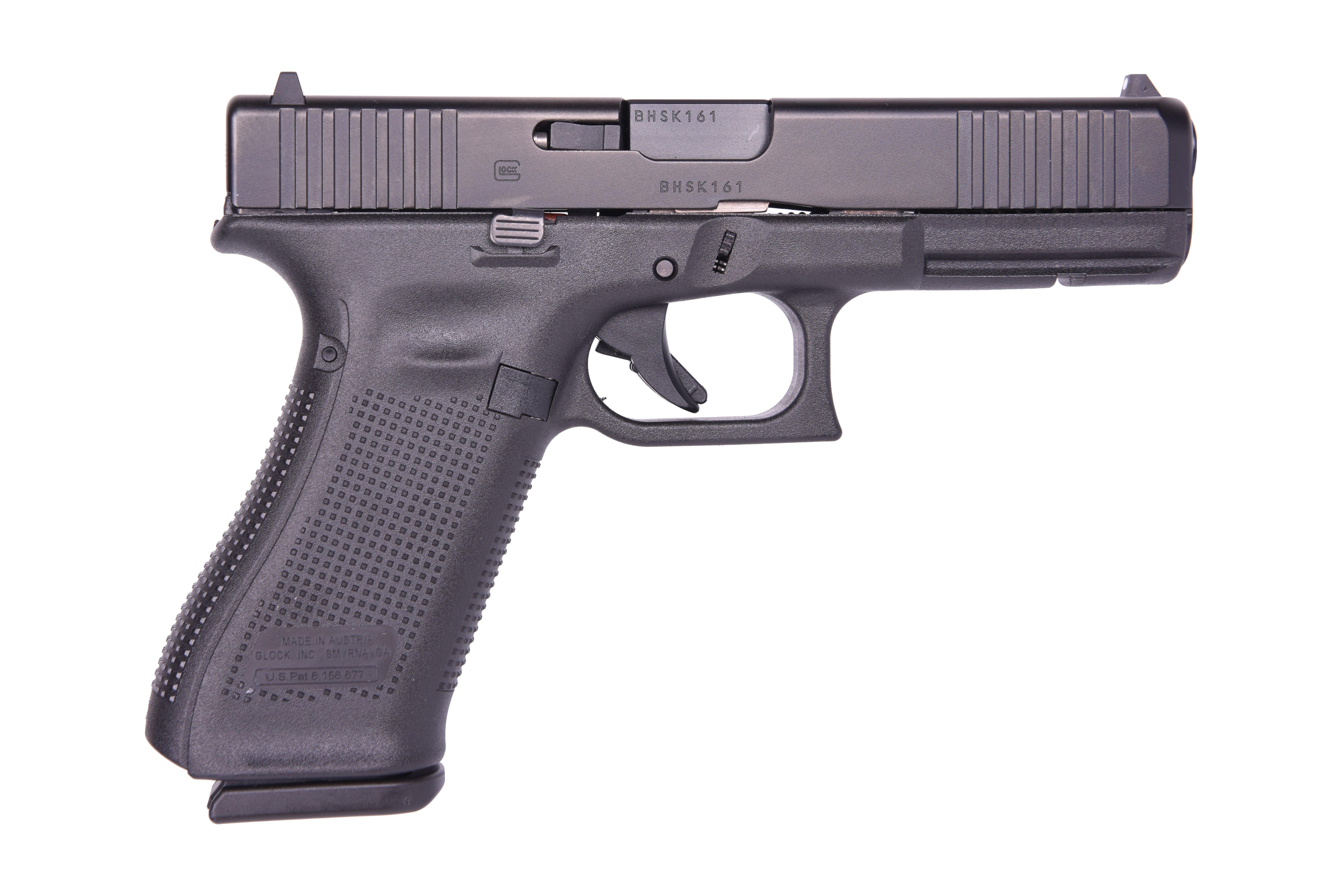 17 Gen5 9mm 4.49 17 Round Black Glock PA175S203