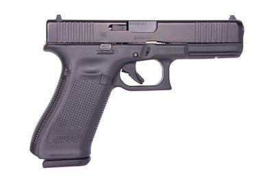 "Glock 17 Gen5 Full Size 9MM 4.49"" Barrel 10-Rounds Fixed Sights"