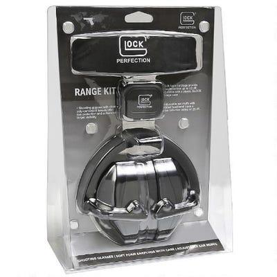 Glock Range Kit Eye/Ear Protection Black