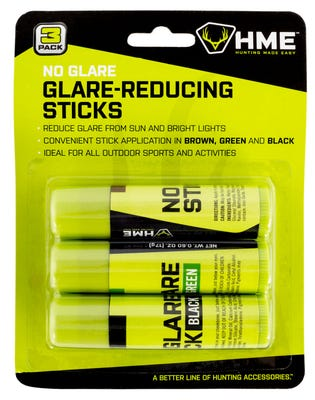 HME Products No Glare Camo Face Paint Black / Brown / Dark Green