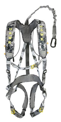 Hawk Hunting Elevate Line Safety Harness Chaos Black