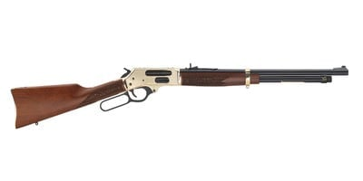 """Henry Repeating Arms Side Gate Lever Action Shotgun Walnut / Brass .410 GA 20"""" 5 RD 2.5"""" Chamber"""