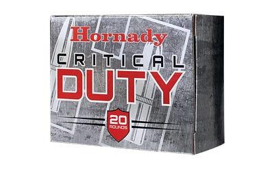 Hornady Critical Duty 9mm 124gr 25-Rounds FlexLock