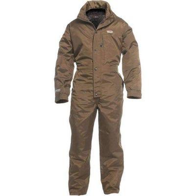 HuntSmart Elite Insulated Coveralls Medium Brown