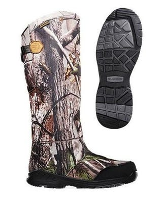 """Lacrosse Coil Snakeboot Realtree APG 18"""" Size 9W"""