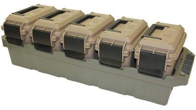 MTM 5-Can Ammo Crate Mini Green