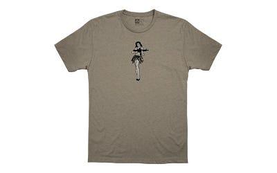 Magpul Hula Girl Men's Short Sleeve T-Shirt Large Stone Grey