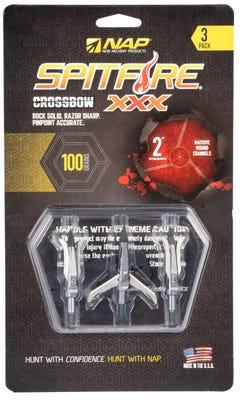 New Archery Products Spitfire XXX Crossbow Bolt Tips 100 Grain
