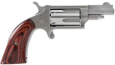 """North American Arms Mini-Revolver Stainless .22 Mag 1.125"""" Barrel 5-Rounds"""