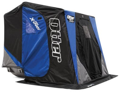 Otter XT Pro X-Over Cabin Blue / Black 2-Person Shelter