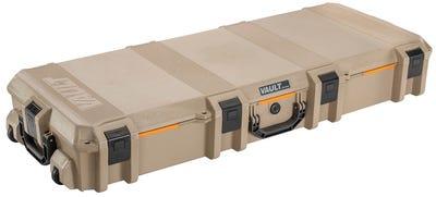 """Pelican Vault Tactical Rifle Case 47.12"""" L x 19.18"""" W x 6.90"""" D Tan"""